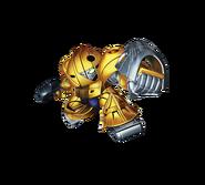 Super Gundam Royale gold sumo