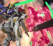 Gundam Barbatos Lupus & 00 Qan[T] (SGR PV 02)
