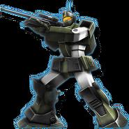 Gundam Diorama Front 3rd RGM-79SC GM Sniper Custom