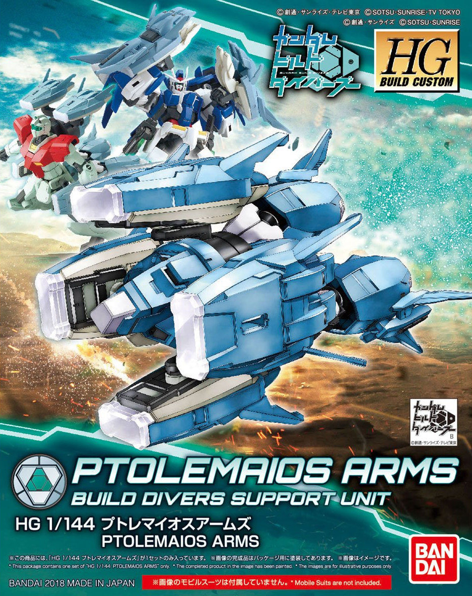 Gundam Build Divers Build Hands Round S,M,L HGBC 1//144 Scale Accessory Kit