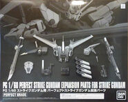 PG Perfect Strike Gundam Expansion Parts for Strike Gundam
