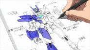 PFF-X7-E3 Earthree Gundam (Ep 19) 01
