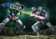 GN-001 Gundam Exia Repair II - Vs. 0 Gundam