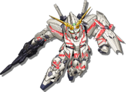 Super Robot Wars V Unicorn Gundam Destroy Mode