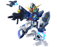 ''SD Gundam G Generation Crossrays'' Dreadnought Gundam
