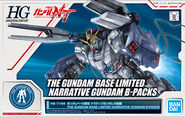 HGUC Narrative Gundam B-Packs