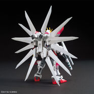 GAT-X105B-GC Build Strike Galaxy Cosmos (Gunpla) (Rear)
