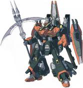 GAT-X252R Rot Forbidden Gundam (Front)