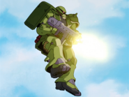 Zaku Kai II midair