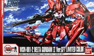 HG Delta Gundam II Ver.GFT Limited Color