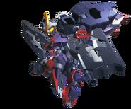 SD Gundam G Generation Cross Rays Gundam Dantalion (T Booster)