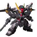 Unit as strike noir gundam twin linear guns