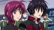 Lunamaria & Shinn shocked