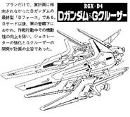 RGX-D4 D Gundam Fourth Lineart