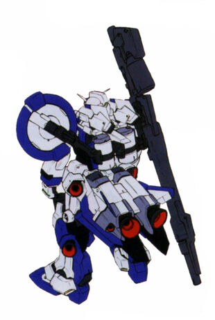 Rear (Equipped w/ FF-X(7)II Core Booster II)