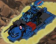 Zaku tanker blue