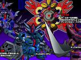 Superior Defender Gundam Force Characters