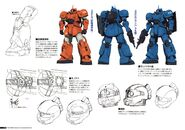 Gundam The Origin Mechanical Work 1st Vol MS-04 Bugu B