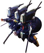 SD Gundam G Generation Genesis RX-124 Gundam TR-6 (Queenly) Full Armor Form