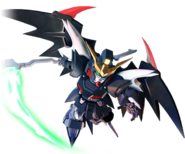 SD Gundam G Generation Cross Rays Gundam Deathscythe Hell (EW Ver.)
