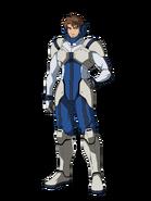 G Gen Cross Rays Custom Character (Male Gjallarhorn Pilot)