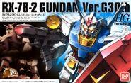 HG - RX-78-2 Gundam Ver.G30th - Boxart