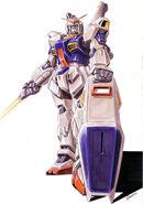 Gundam MK-II Kunio Okawara Illustration