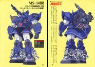 MSV-R MS-14BR Gelgoog A Baoa Qu Battle Type