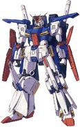 MSZ-010 Gundam MG Ver Ka Line Art