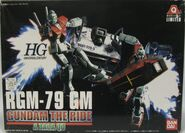 Gunpla HGUC RGM79-GundamTheRide box