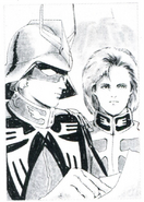 Portrait Char and Garma Zabi