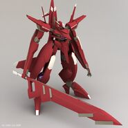 CG GNW-20000 Arche Gundam Buster Sword