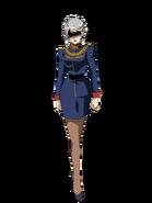 G Gen Genesis Custom Character (Female Zeon Officer)