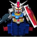 Unit br gundam+b-parts