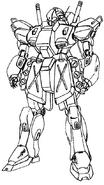 RGM-89T Jegan Lineart