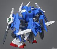 SDCS Gundam 00 Diver Ace (Rear)
