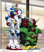 Command Gundam & Beginning Gundam