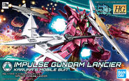 HGBD Impulse Gundam Lancier