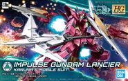 HGBD Impulse Gundam Lancier