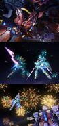 Mobile Suit Gundam UC Neo Zeong Strikes Odaiba!