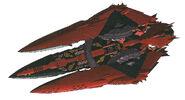 Fa Bose-class battleship (Menas), Zeheart's ship