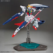 GF13-017NJ-B Gundam Shining Break (Gunpla) (Action Pose 2)