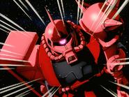 Mobile Suit Gundam Journey to Jaburo PS2 Cutscene 006 Char Zaku