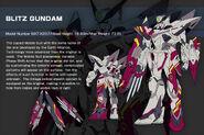 GAT-X207 Blitz Gundam (Lily Thevalley Custom) - Data
