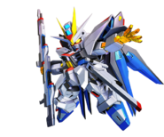 SD Gundam G Generation Cross Rays Strike Freedom Gundam