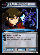 Shiho Hahnenfuss - Gundam War Card