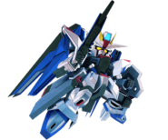 ''SD Gundam G Generation Crossrays'' Freedom Gundam