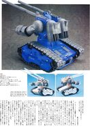 MG RX-75 Guntank Conversion Kit 3