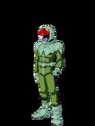 G Gen Genesis Custom Character (Male Zeon Pilot)