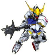 Super Robot Wars DD Barbatos Gundam